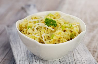 Camembert Risotto
