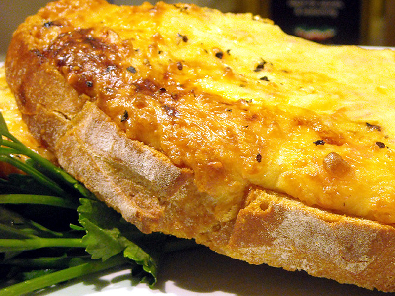 Welsh Rarebit With Celtic Promise Cheese Recipe