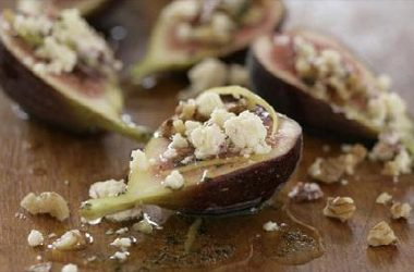 Figs with Manchego