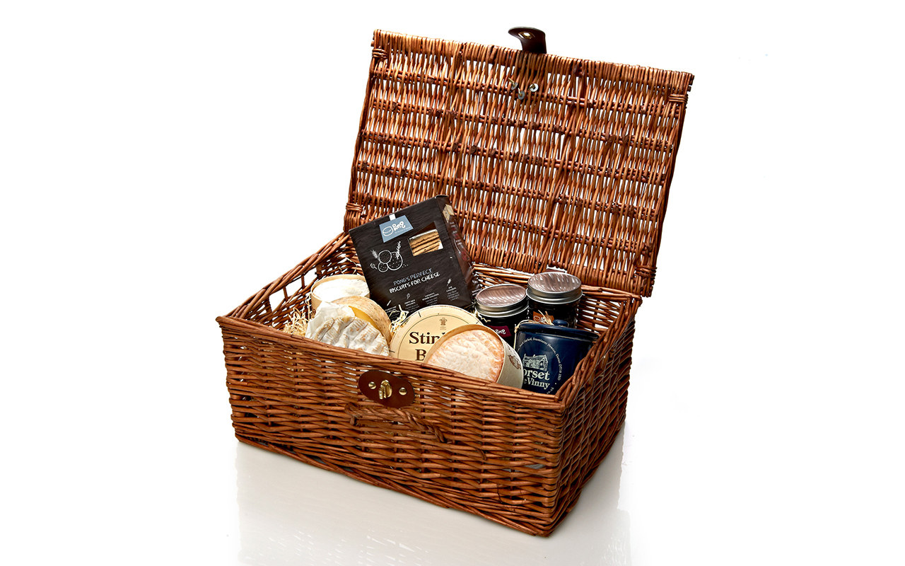 The Deluxe Cheese Hamper