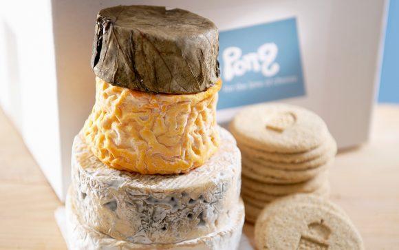 Maternity Gift Box of Cheese