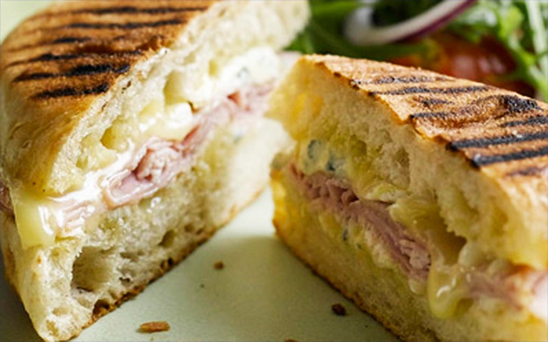 Ciabatta Croque Monsieur with Cotswold Blue Brie Cheese Recipe