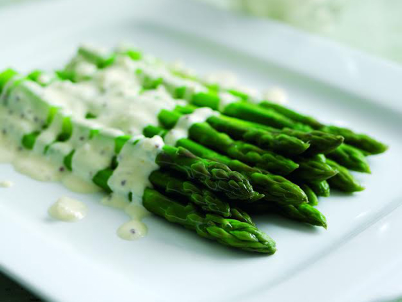 Asparagus Shallots White Wine And Selles Sur Cher Goats