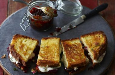 Chilli Jam and Goat's Cheese Sandwich