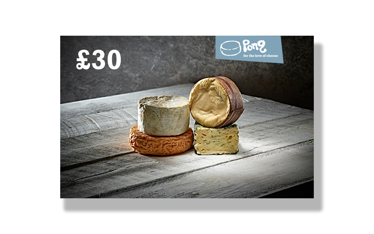 Pong Cheese £30 Pong Cheese Gift Voucher