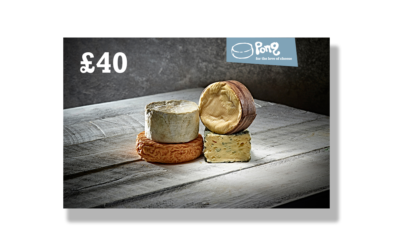 Pong Cheese £40 Pong Cheese Gift Voucher