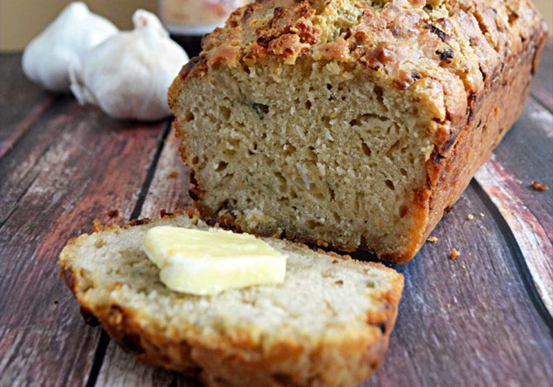 Blue Cheese Beer Bread