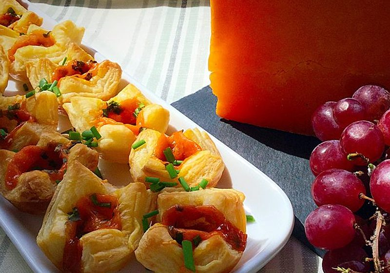 Red Leicester Cheese Tarts