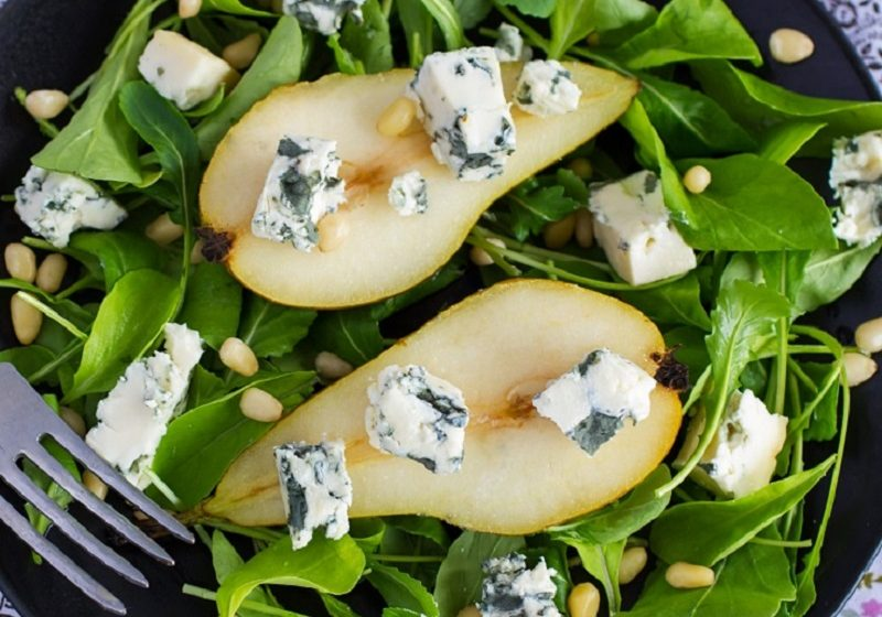 Pear and Blue Salad