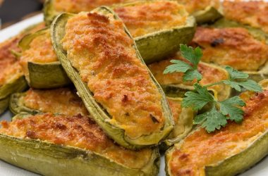 Baked Courgettes