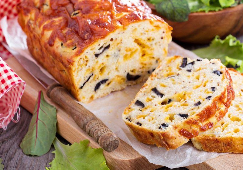 Olive and Reblochon Loaf