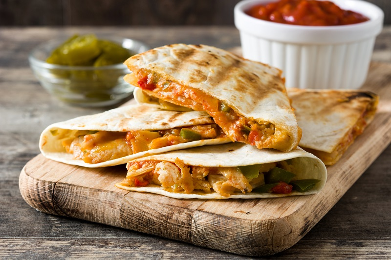 Quesadillas with Manchego