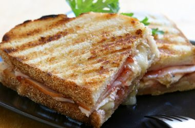 Turkey, Brie and Cranberry Sandwich