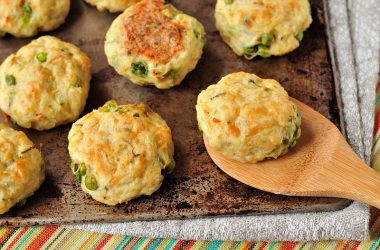Cheese and Turkey Potato Cakes