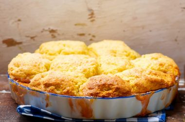 Cheesy Chicken Cobbler