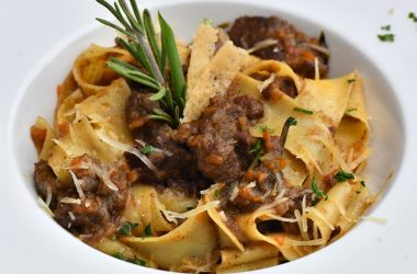 Steak and Beauvale Pappardelle