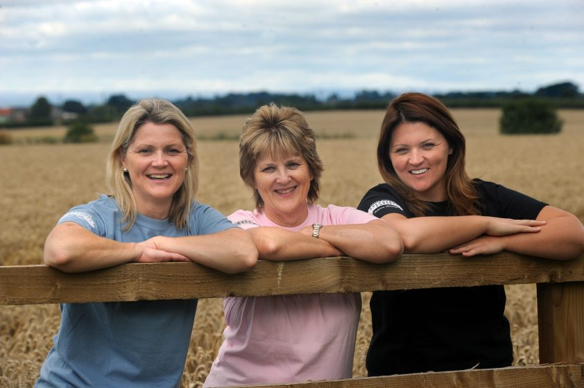 Shepherds Purse Team Judy, Katie and Caroline