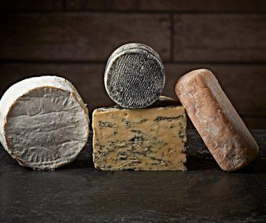 Alex James Co British Cheese Box of 4
