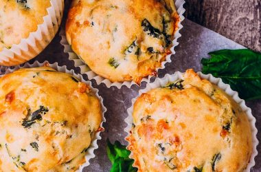 Shropshire Blue Cheese Muffins