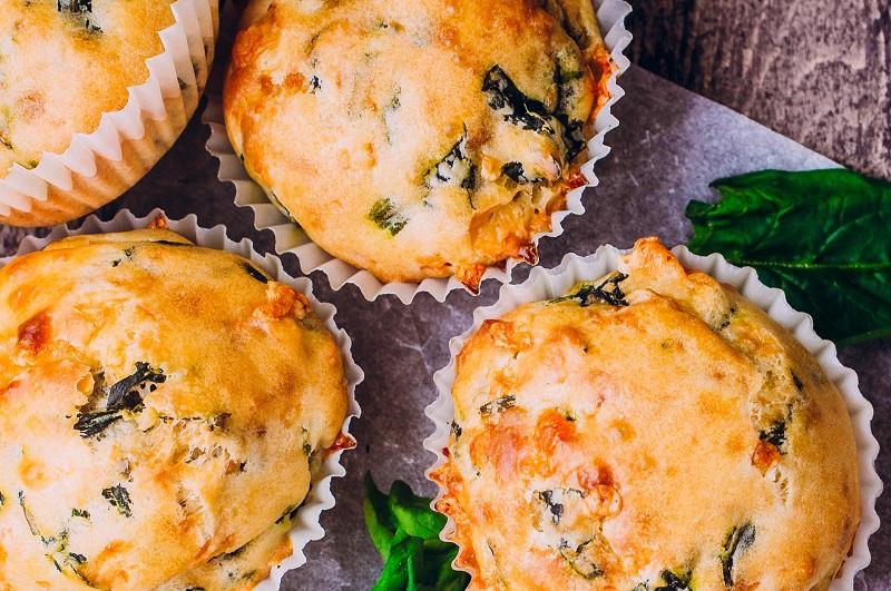 Shropshire Blue Cheese Muffins