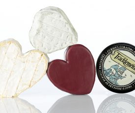 Valentines Cheese Heart-Shaped Box