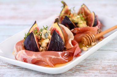 figs with Gorgonzola