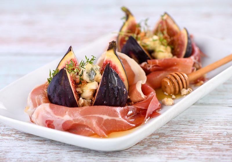 figs with Gorgonzola