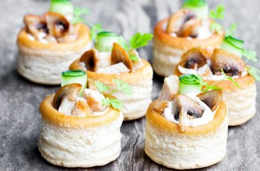 cheese vol-au-vent