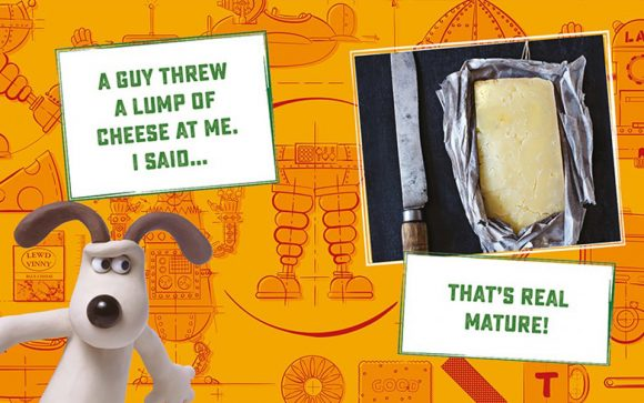 Wallace and Gromit Little Book of Cheese